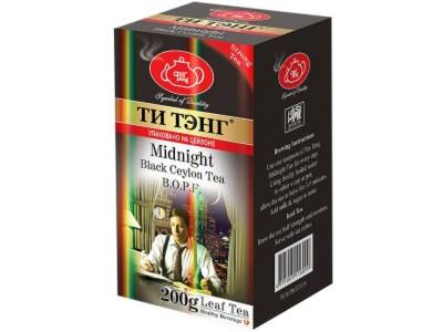 Чай весовой черный Ти Тэнг Midhight B.O.F.P. 200 г