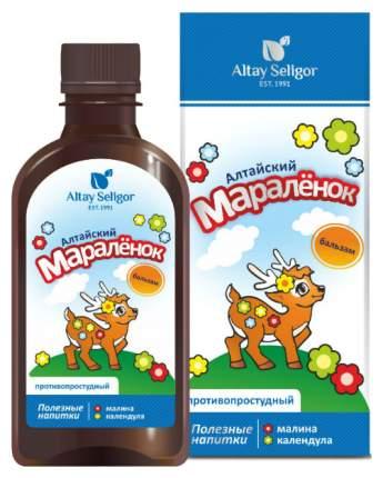 Бальзам детский Алтай-Селигор Противопростудный Алтайский Маралёнок 200 мл