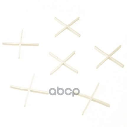 Крестики, 1,0 мм, для кладки плитки, 100 шт,// Сибртех