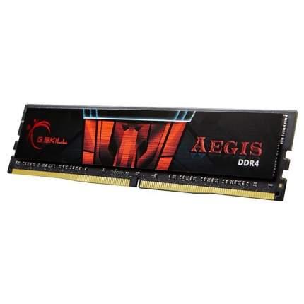 Оперативная память G.Skill Aegis DIMM DDR4 16384Mb 2666Mhz (F4-2666C19S-16GIS)