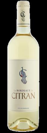 Вино Le Bordeaux de Citran Blanc, Chateau Citran, 2016 г.