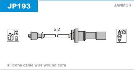 Комплект проводов зажигания JANMOR JP193