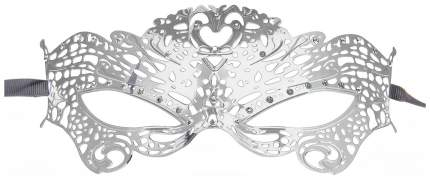 Маска Shots Media Butterfly Masquerade Mask металлическая серебристый