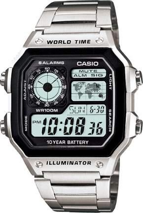 Наручные часы электронные мужские Casio Collection AE-1200WHD-1A