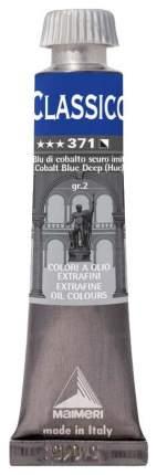 Масляная краска Maimeri Classico кобальт синий темный имитация 20 мл