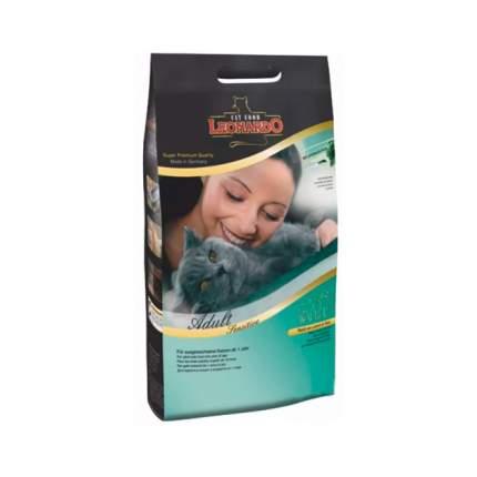 Сухой корм для кошек Leonardo Adult Sensitive, ягненок и рис,0,4кг