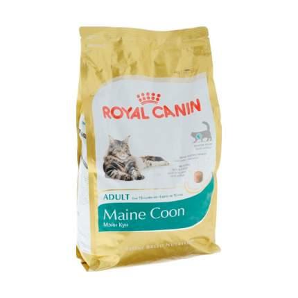 Сухой корм для кошек ROYAL CANIN Maine Coon Adult, мейн-кун, домашняя птица, 0,56кг