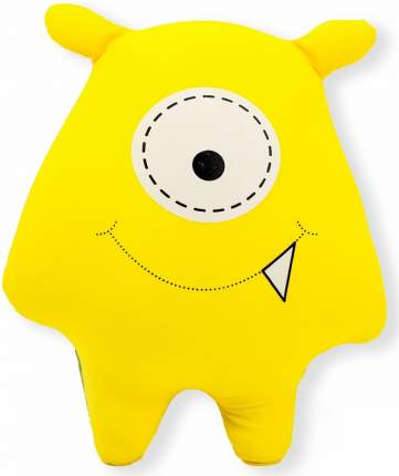 Игрушка-подушка Gekoko Монстрик жёлтый A031