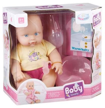 Пупс с аксессуарами Warm Baby Lovely Baby (пьет, писает) WZJ008A-2