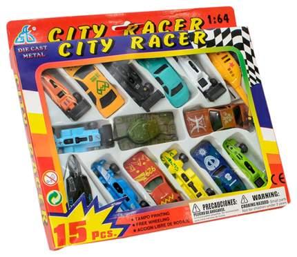 Наборы игрушечного транспорта Global Way Shares City Racer 15 машинок Motor Wheels