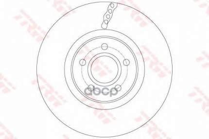 Тормозной диск TRW/Lucas DF6138