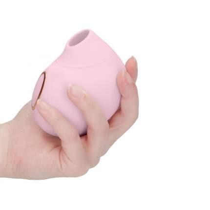Вакуумно-волновой стимулятор клитора Irresistible Seductive Pink