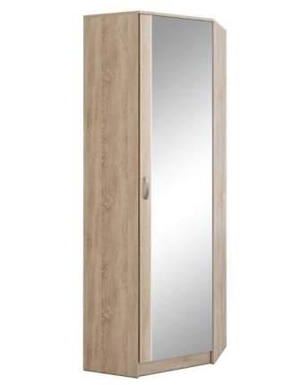 Платяной шкаф MFMaster МСТ-ПДО-ШУ-З2 70х70х200, дуб сонома