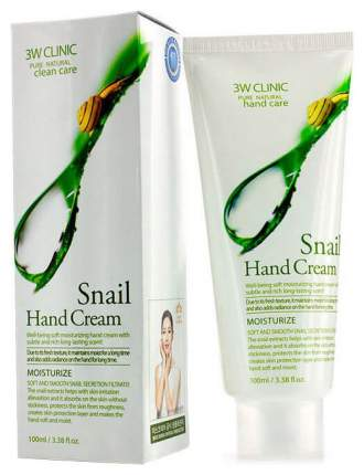 Крем для рук 3W Clinic Moisturizing Snail Hand Cream