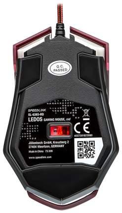 Игровая мышь SPEED-LINK Ledos Red (SL-6393-RD)