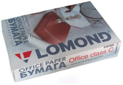 Бумага для принтера A4 Lomond Office двусторонняя матовая Белый 500