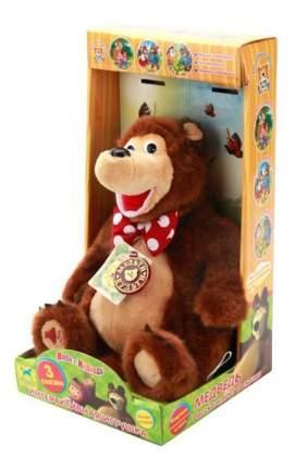 Мягкая игрушка Мульти-Пульти Мишка (м/ф маша и медведь) рассказывает 3 сказки 6 шт.