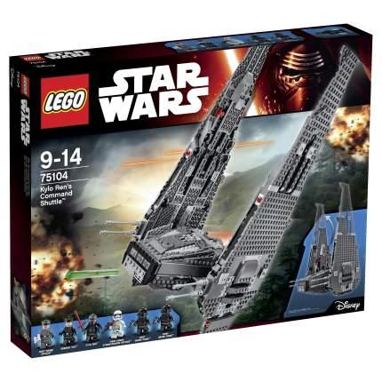Конструктор LEGO Star Wars Командный шаттл Кайло Рена (Kylo Rens Command Shuttle) (75104)