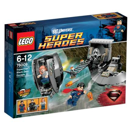 Конструктор LEGO Super Heroes Супермен: Побег Блек Зеро (76009)