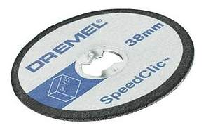 Отрезной диск по камню для угловых шлифмашин DREMEL 2615S476JB
