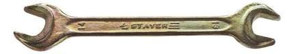 Рожковый ключ Stayer 27038-13-14