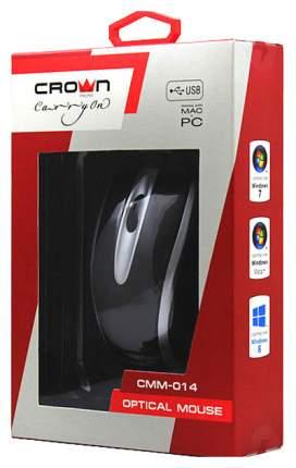 Проводная мышка Crown CMM-014 Silver/Black