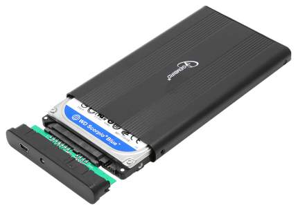 Внешний карман (контейнер) для HDD Gembird EE2-U2S-5 Black