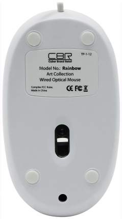Проводная мышка CBR SET703 White
