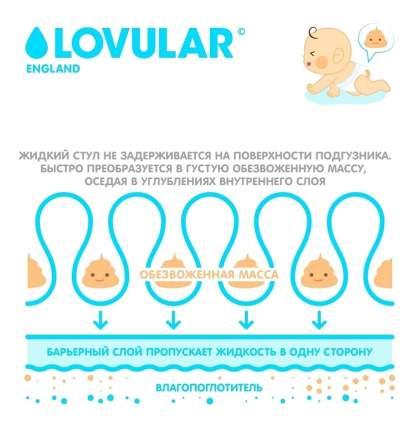 Подгузники для новорожденных LOVULAR HOT WIND S 0-6 кг 226571 80 шт/уп