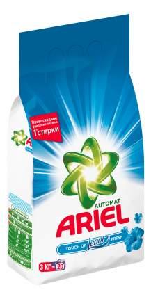 Порошок для стирки Ariel touch of lenor fresh автомат 3 кг