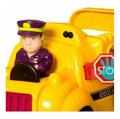 Машинка B.Dot Школьный автобус с пассажирами