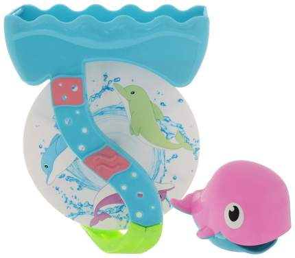 Игрушка для купания ABtoys «Веселое купание» Дельфин-мельница (2 предмета) PT-00531