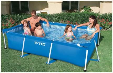 Бассейн каркасный INTEX Small Frame 58980