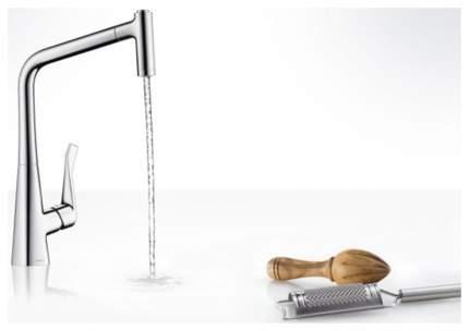 Смеситель для кухонной мойки Hansgrohe Metris 14820800 хром