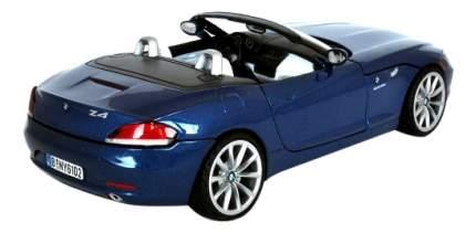 Коллекционная модель MotorMax 2010 BMW Z4 Roadster синия 1:24