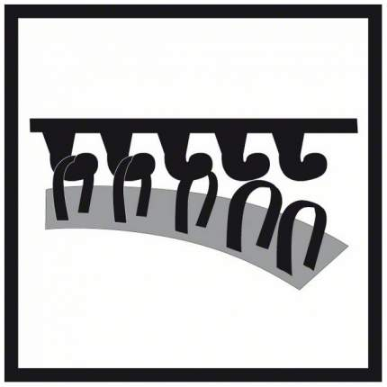Круг шлифовальный для эксцентриковых шлифмашин Bosch 150мм GEX 2608601115