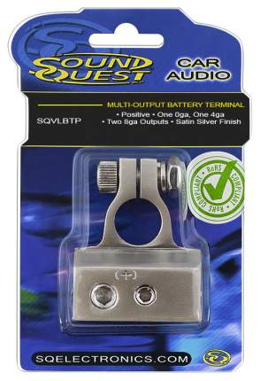 Клемма аккумуляторная Sound Quest 4 вх. SQVLBTP