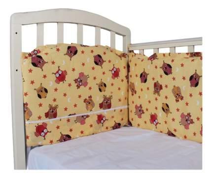 Текстильный бортик для кроватки Alis Борт в кроватку 360 х 40 зеленый