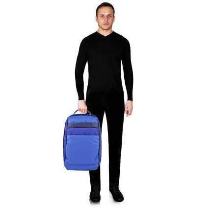 Рюкзак кожаный Piquadro Orinoco синий