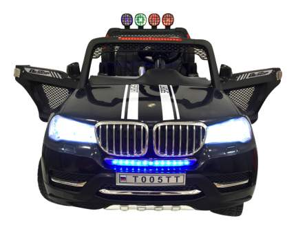 Электромобиль BMW (4x4) черный RIVERTOYS