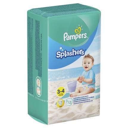 Трусики для плавания Pampers Splashers 3-4, 12 шт.