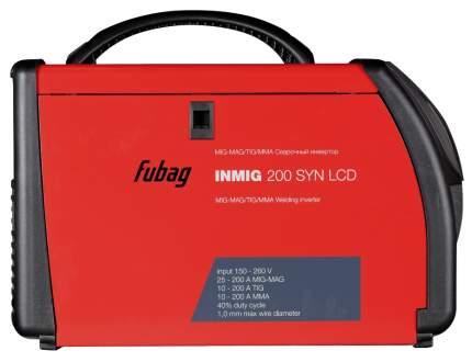 Сварочный полуавтомат_инвертор INMIG 200 SYN LCD (38430) + горелка FB 250_3 м (38443)