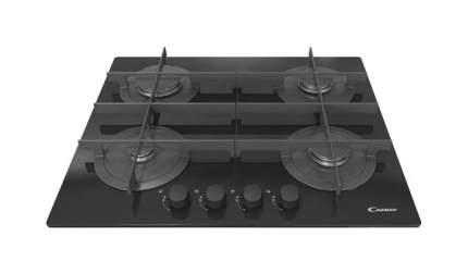 Встраиваемая варочная панель газовая Candy CVG 64STGN Black