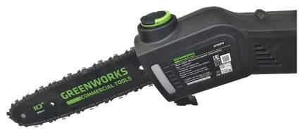 Аккумуляторный кусторез Greenworks 1400307 GC82PS без АКБ и ЗУ