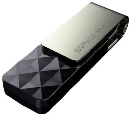 USB-флешка Silicon Power Blaze B30 16GB Black (SP016GBUF3B30V1K)