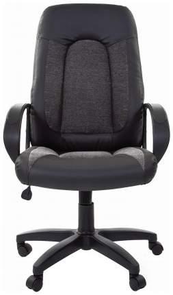 Кресло руководителя CHAIRMAN 429 00-07007095, черный/серый