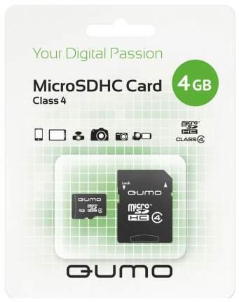 Карта памяти QUMO Micro SDHC QM4GMICSDHC4 4GB