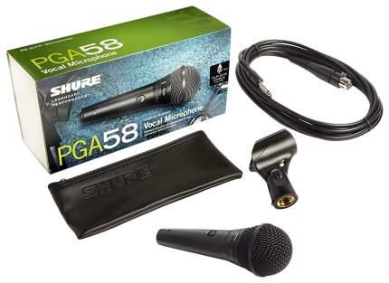 Микрофон Shure PG ALTA PGA58-QTR-E