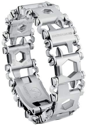 Браслет-мультитул Leatherman Tread LT 832431 160 мм серебристый, 29 функций