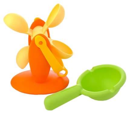 Набор игрушек для ванны Биплант Водное колесо и ковш 16066 №6